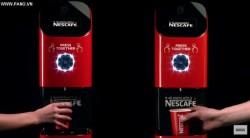 Ý tưởng tuyệt vời của Nescafe