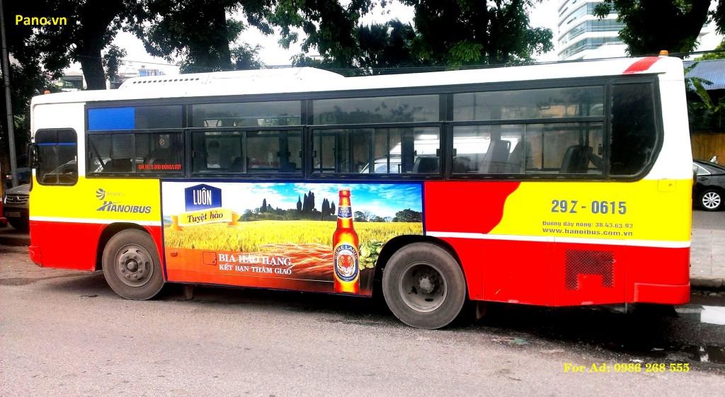 quảng cáo ngoài trời bus