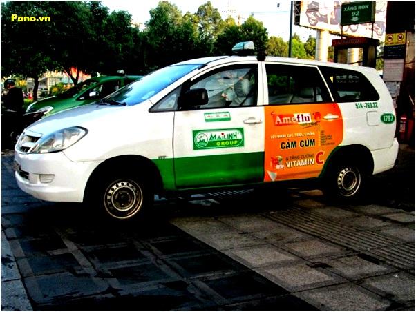 Taxi MaiLinh Ads
