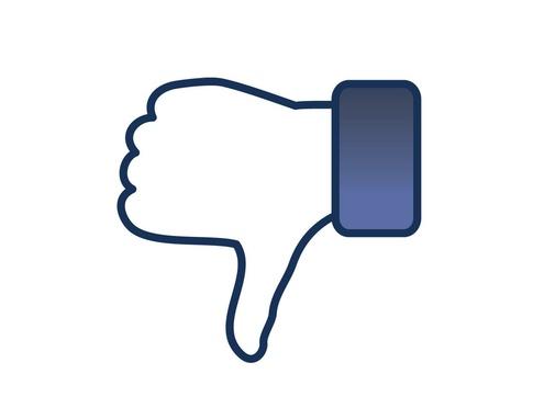 nút dislike facebook
