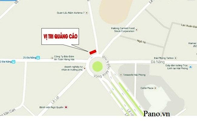 sơ đồ vị trí Nguyễn Trãi - LHP