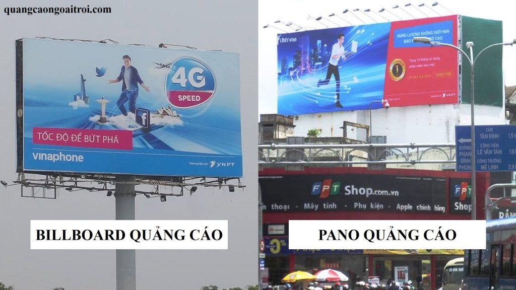 quảng cáo biển tấm lớn ngoài trời