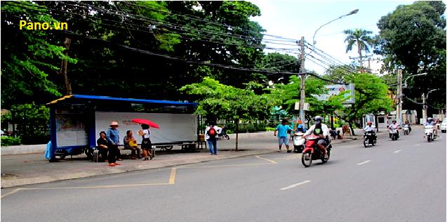 Quảng cáo nhà chờ xe buýt tại 379 Quang Trung - Thành phố Hồ Chí Minh