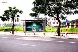 Quảng cáo nhà chờ xe buýt tại đường Nguyễn Tri Phương - Đà Nẵng