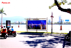 Quảng cáo nhà chờ xe buýt tại đường Bạch Đằng - Đà Nẵng