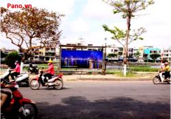 Quảng cáo nhà chờ xe buýt tại đường Hàm Nghi - Đà Nẵng
