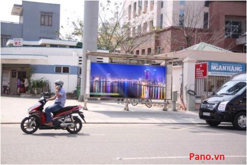 Quảng cáo nhà chờ xe buýt tại số 7 Lê Duẩn - Đà Nẵng