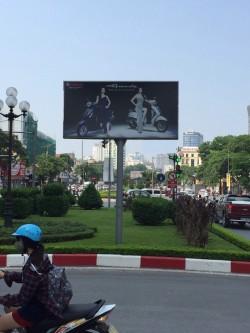 Quảng cáo biển hộp đèn đường Nguyễn Chí Thanh