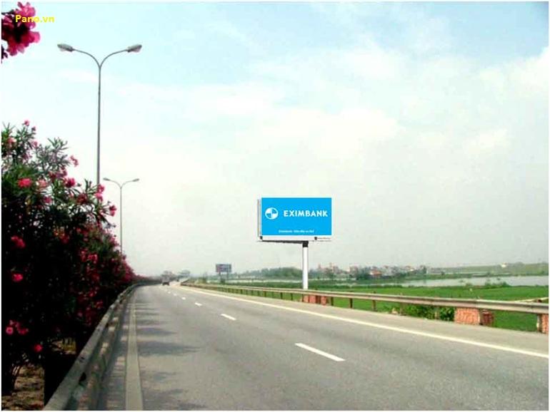 Quảng cáo Billboard tại Quốc lộ 1A Pháp Vân - Cầu Giẽ