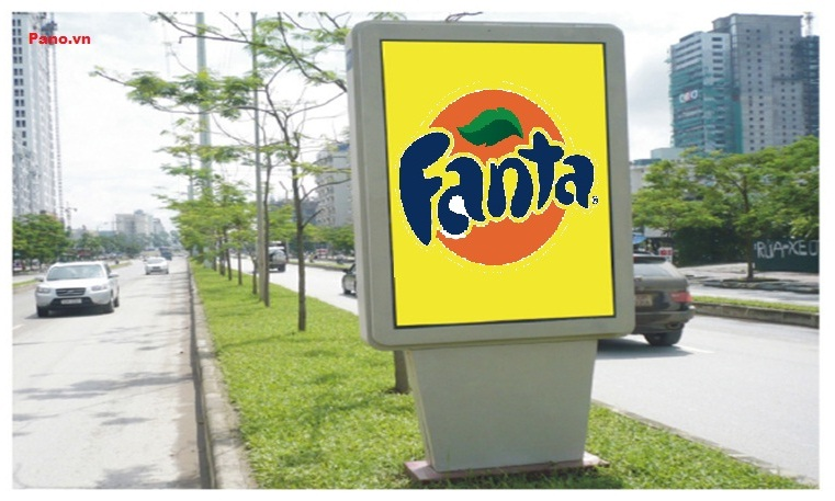 quảng cáo biển hộp đèn tại đường Mễ Trì