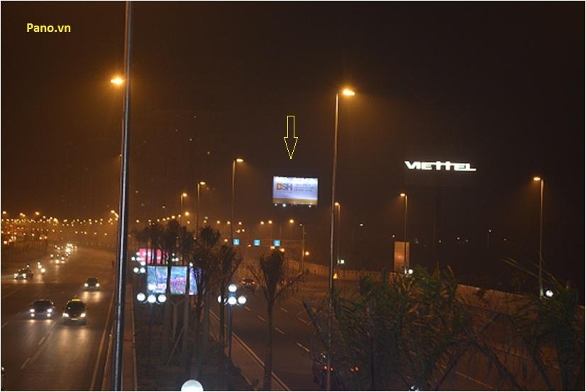 Quảng cáo Billboard tại Cầu Nhật Tân - Nội Bài