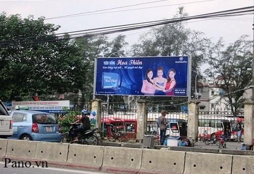 quảng cáo biển hộp đèn tại bến xe Lương Yên