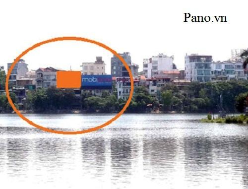 Quảng cáo Pano tại 158 Trấn Vũ - Ba Đình