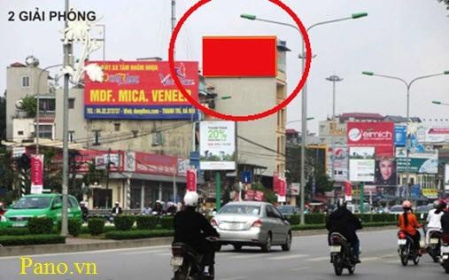 quảng cáo Pano tại vòng xoay Kim Liên - Đại Cồ Việt 3