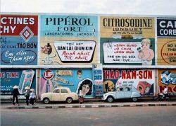 quảng cáo của Sài Gòn xưa