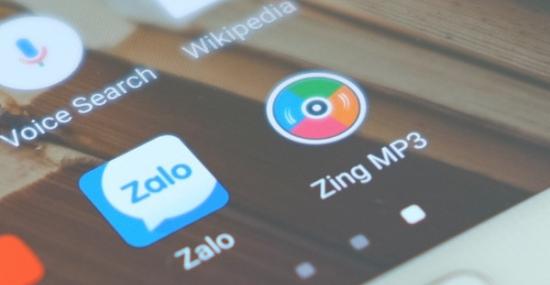 giá trị của Zing MP3 và Zalo