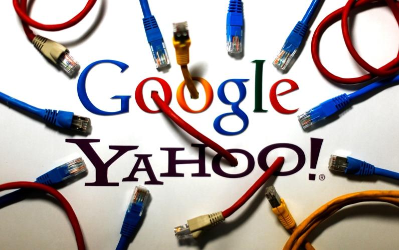 Yahoo và Google