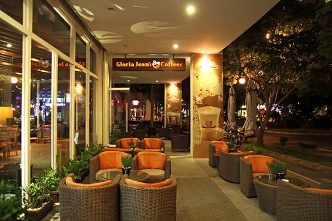 cà phê ngoại Gloria Jean's