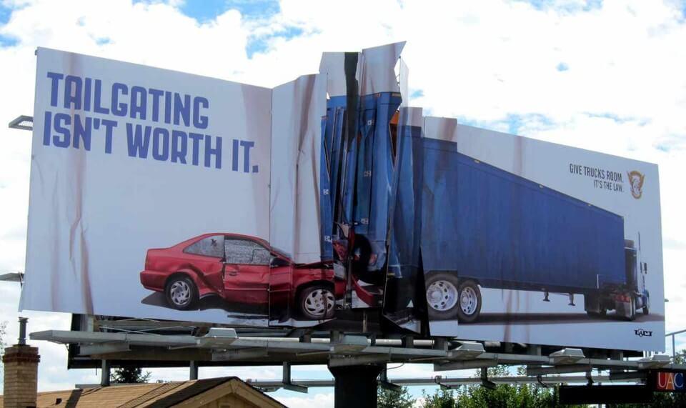 biển quảng cáo sáng tạo