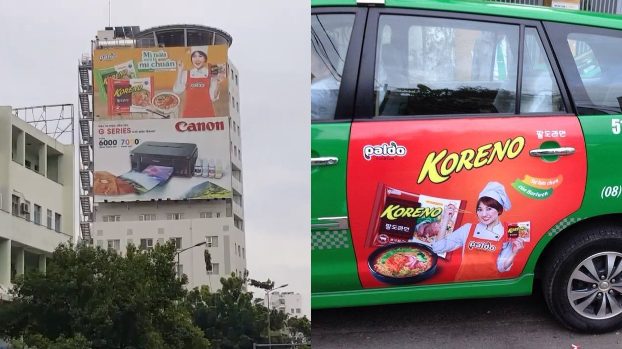 quảng cáo biển tấm lớn