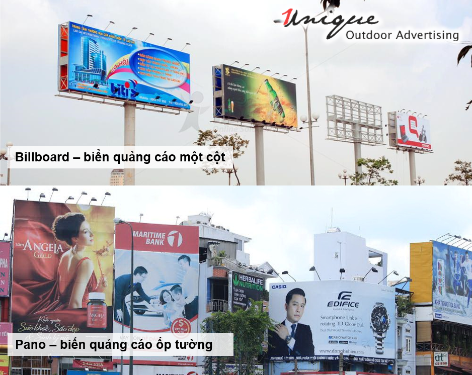biển quảng cáo tầm cao