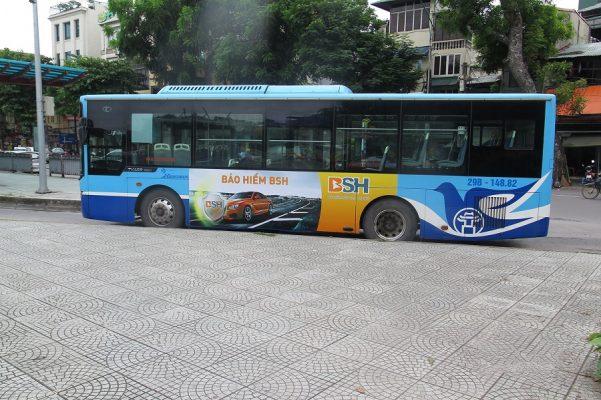 bsh quảng cáo xe buýt