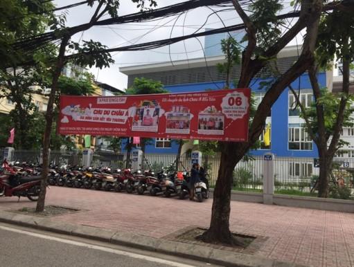 quảng cáo banner ngang