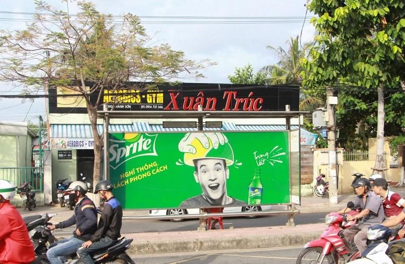 Quảng cáo nhà chờ xe buýt tại 211 Kim Mã - Hà Nội