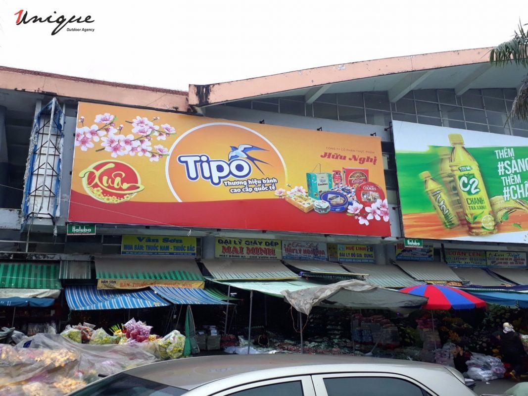 quảng cáo pano biển chợ