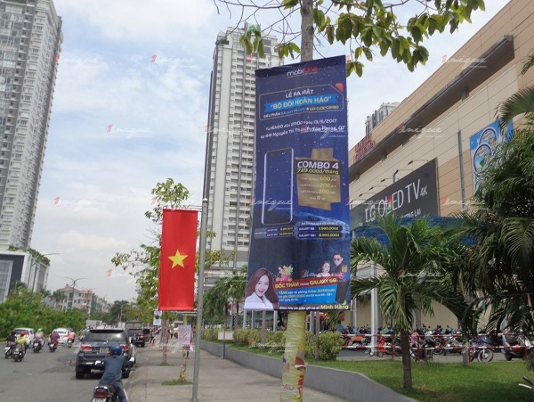quảng cáo banner phướn