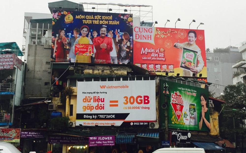 Sự trỗi dậy của quảng cáo pano billboard