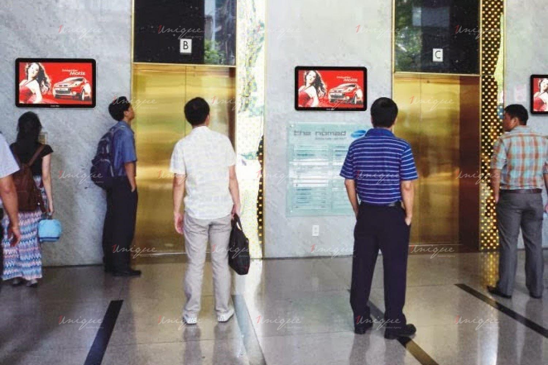 quảng cáo màn hình Lcd, Frame