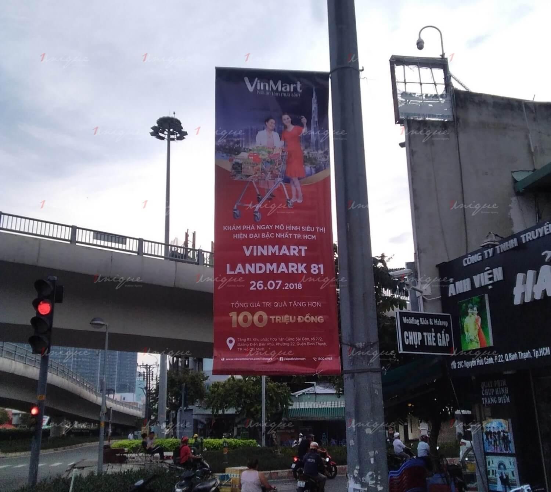 quảng cáo banner cho landmark81