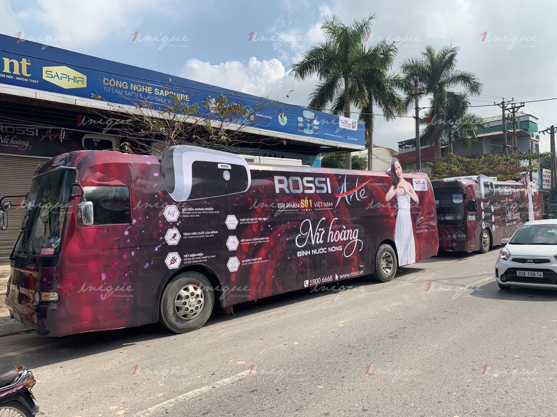 quảng cáo luxury roadshow cho rossi