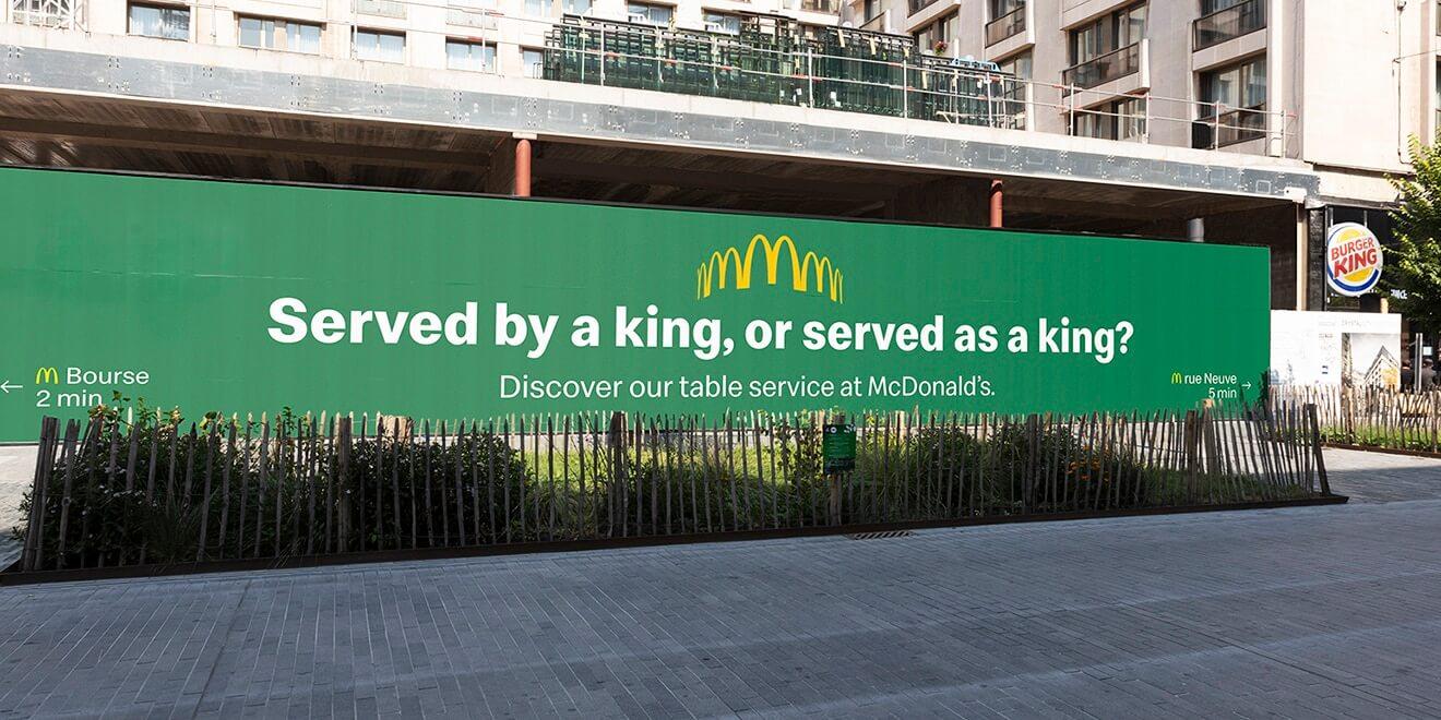 mcdonald khẩu chiến burger king