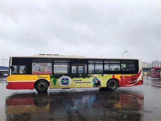 biotrade quảng cáo trên xe buýt