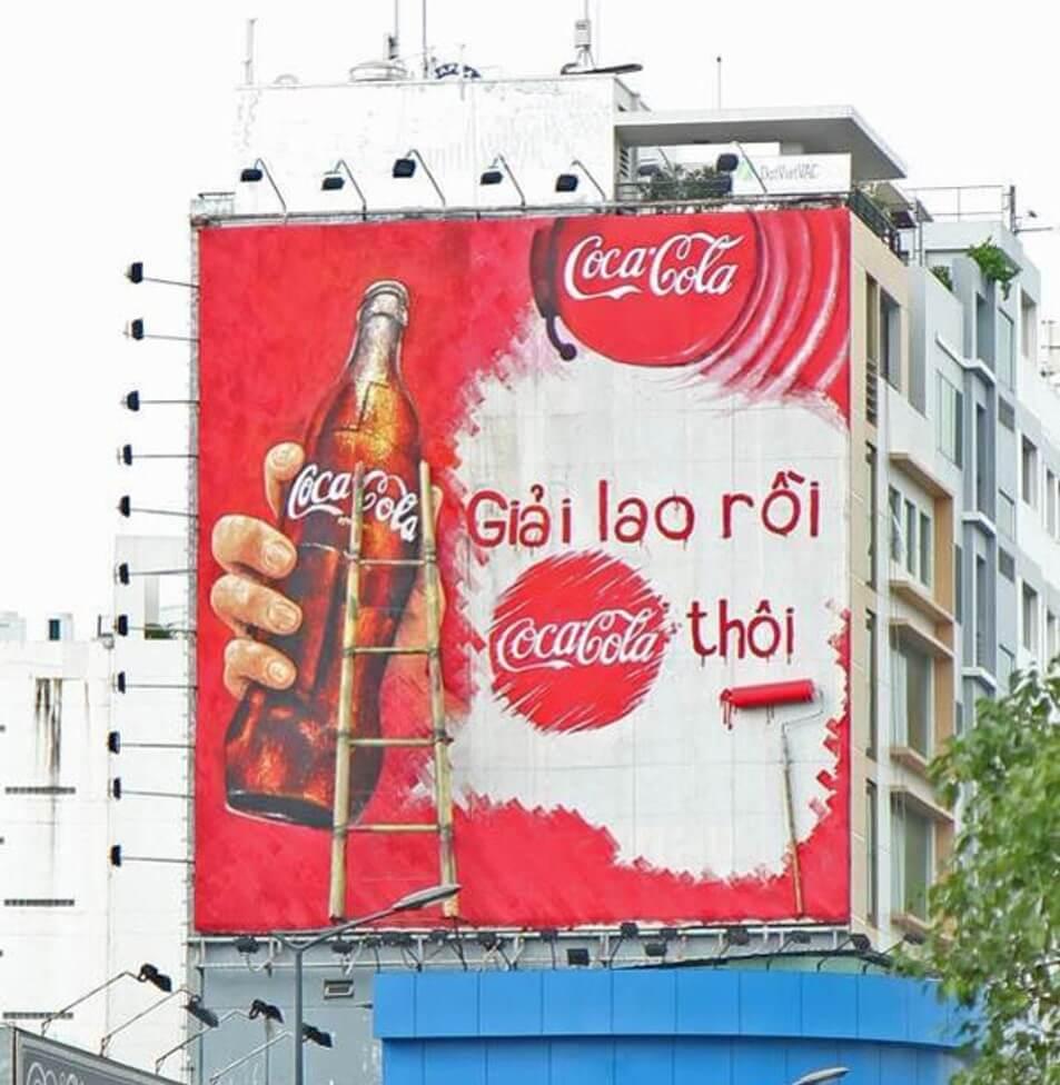 các thương hiệu quảng cáo ngoài trời tại việt nam