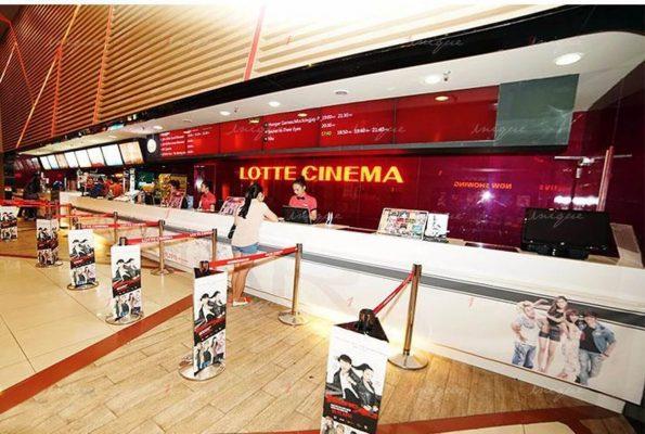 quảng cáo tại rạp chiếu phim