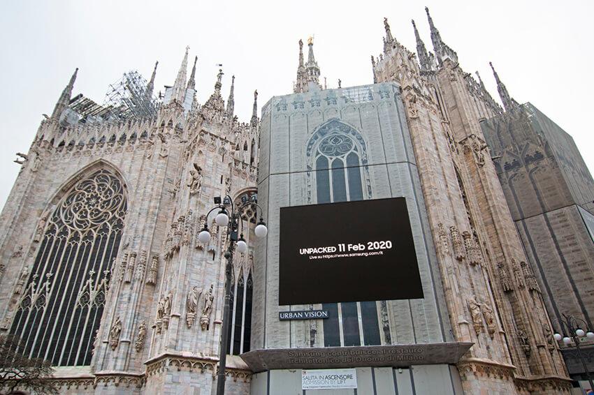 Chiến dịch quảng cáo ngoài trời của Samsung