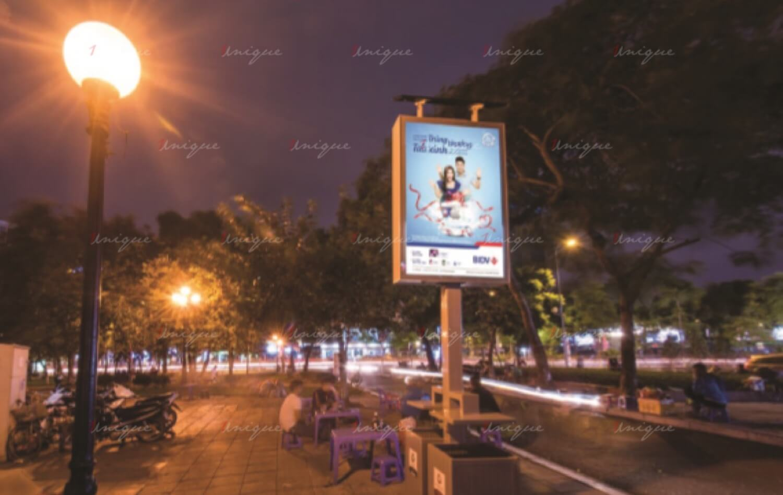 Quảng cáo biển hộp đèn thông minh