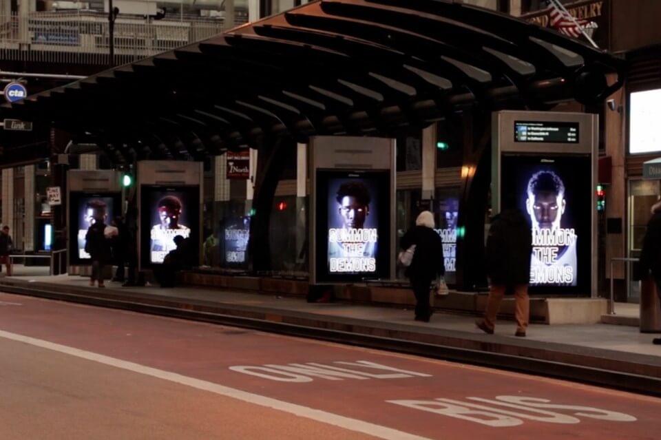 đại học depaul quảng cáo ooh