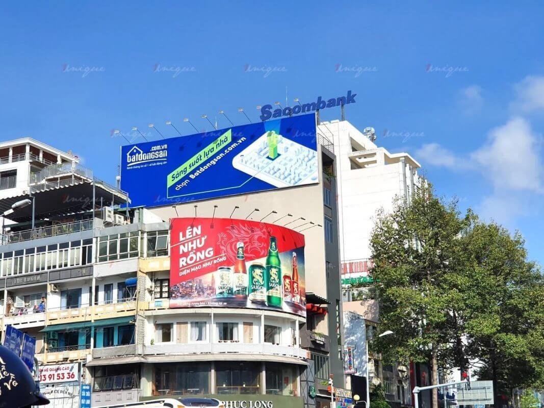 Kích thước biển bảng quảng cáo ngoài trời