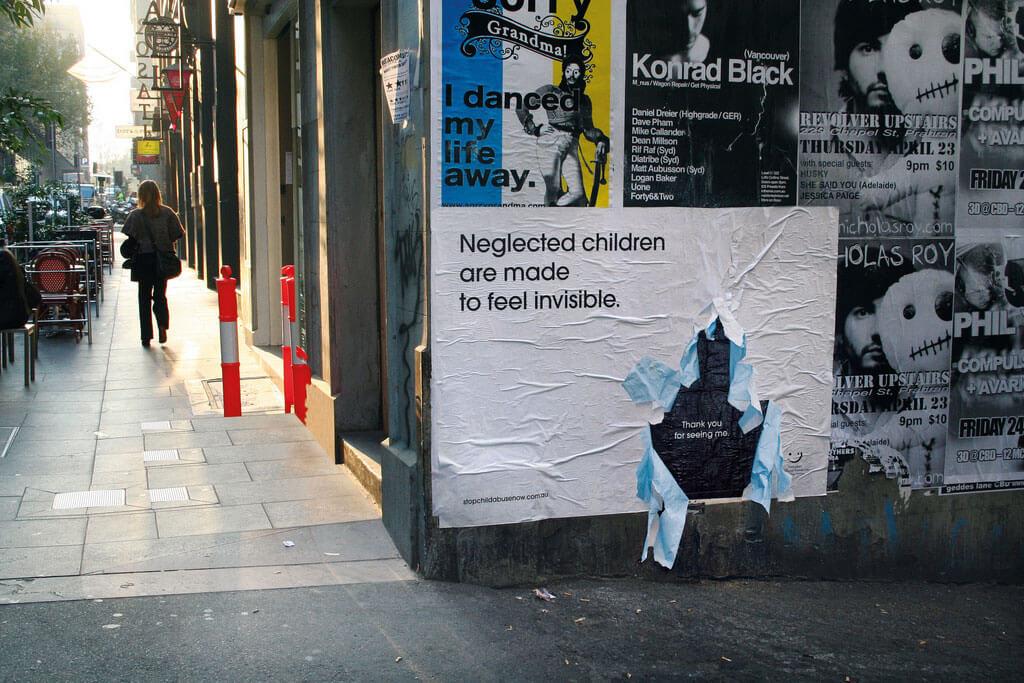 Chiến dịch quảng cáo nâng cao nhận thức về trẻ em của Australian Childhood Foundation