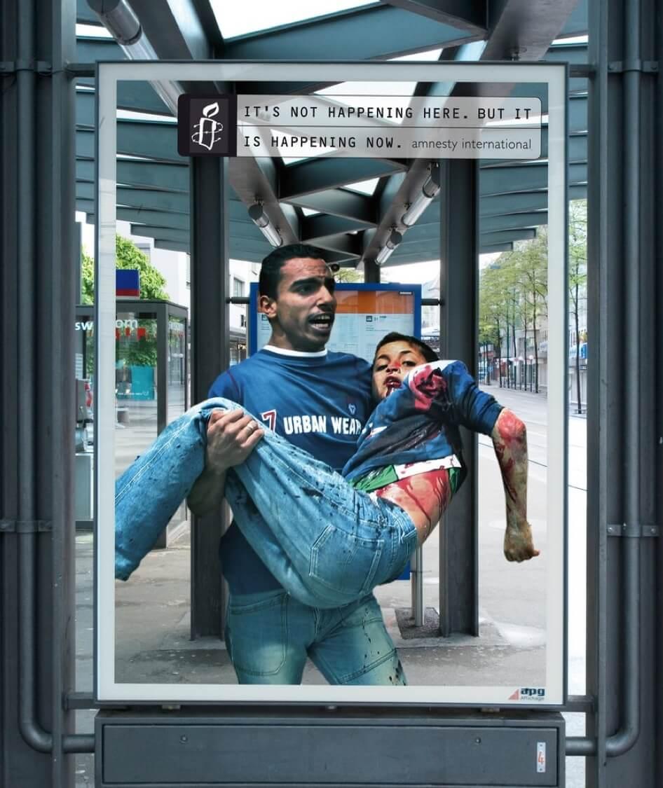 chiến dịch quảng cáo ngoài trời nâng cao nhận thức xã hội của AI