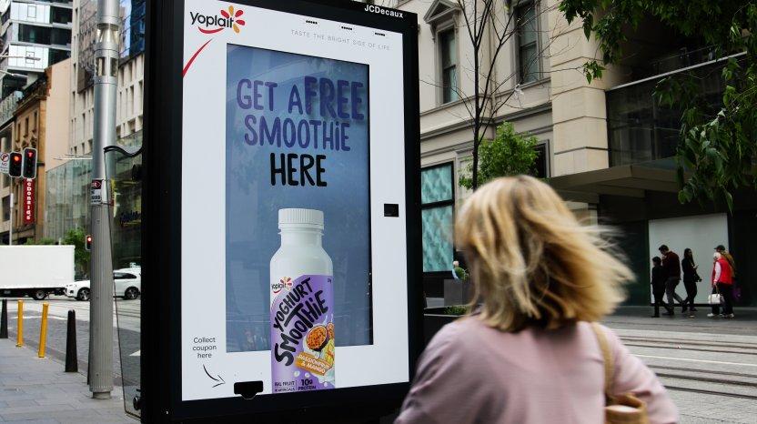 Chiến dịch quảng cáo tương tác sáng tạo của Yoplait