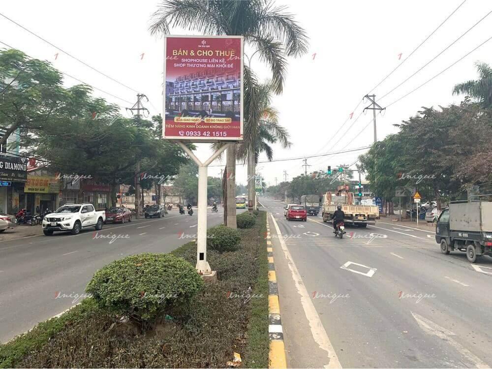 bất động sản the city light quảng cáo biển hộp đèn