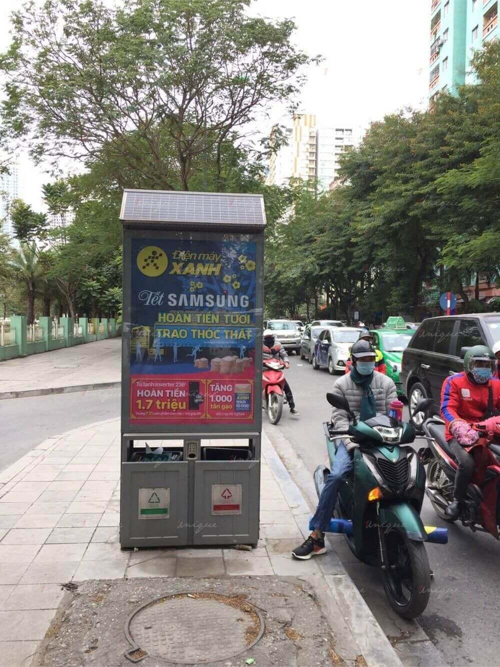 điện máy xanh quảng cáo Tết 2021