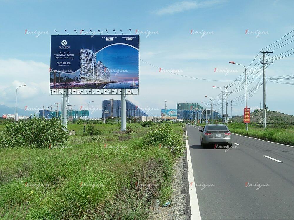 bất động sản the aston nha trang quảng cáo billboard