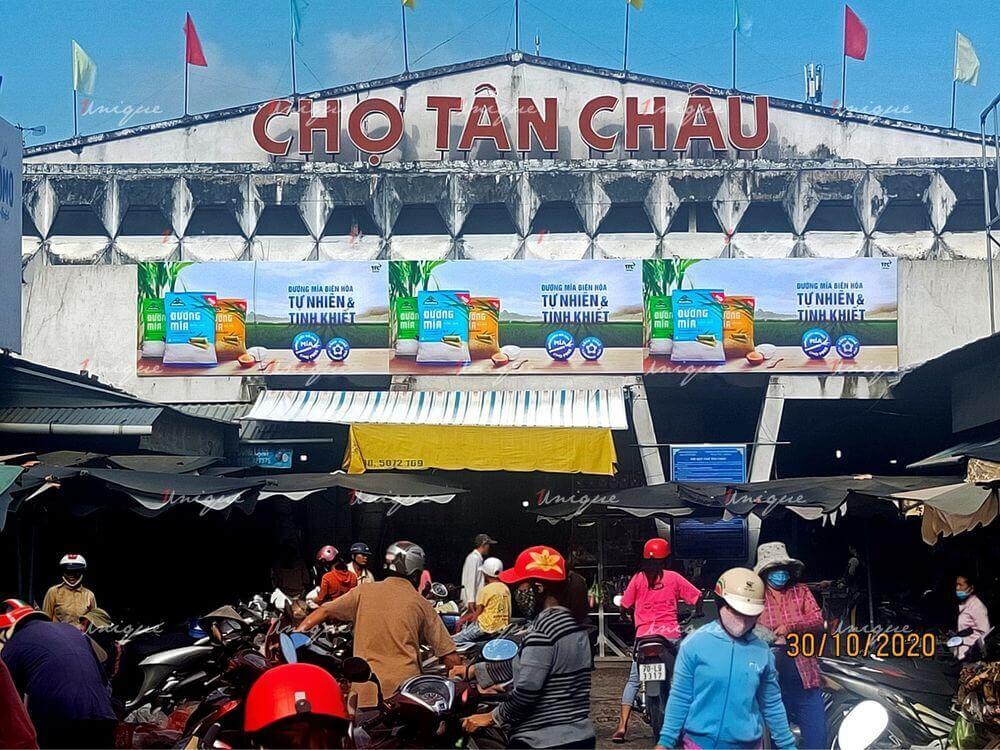 đường biên hòa quảng cáo biển chợ