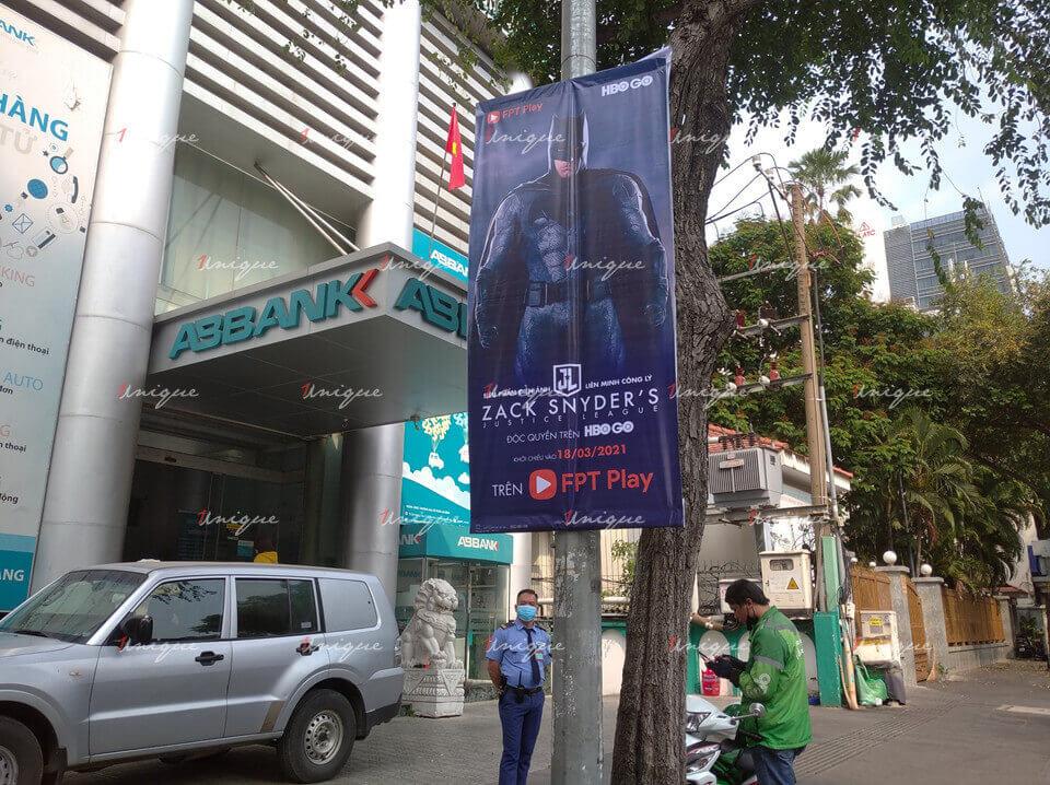fpt quảng cáo banner cho phim liên minh công lý